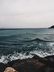 Sea Capture-4 (mvrry) Tags: ocean sea earth nature rage wave waves dark winter photography vsco vscocam vscolover vscocamlover grey greysky moody ease breeze hypebeast preset moldiv compfort crashing iphoneography