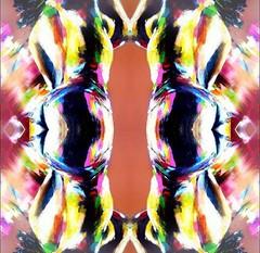 2016-07-26 symmetrical nude paintings 2 (april-mo) Tags: art painting nu nude collage experimentaltechnique womanportrait woman symmetry symmetrical