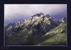 above lake Minnewanka, Banff, Alberta (zawaski) Tags: banffnationalpark beautyalbertacanadaambientlightnaturallightnoflashcanmorerockymountainscalgaryzawaski2016lovecanonefs18200mmf3556is