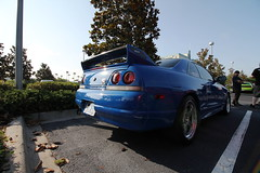 R33 (Joe Folino ( LoopRunner )) Tags: blue cars sports coffee car skyline japanese orlando nissan custom r33 rare coupe modded gtr nismo