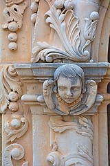Vandalized Cherub (tommyleonard777) Tags: angel texas sanantonio mission cherub church