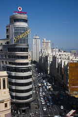 Granvia, Madrid (Deivid82) Tags: madrid granvia grattacielo skyscraper rascacielo spain spagna europe europa urban citt city ciudad