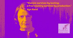 free country vs statism (Demetrios Georgalas aka brexians) Tags: quote production capitalism liberalism aynrand freemarket statism picmonkey e2t2quotes