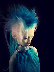 Rei IMG_1548_turquoise (tarengil) Tags: asian doll abjd bjd dollmore zaoll luv ws white skin resin gynoid turquoise cyberlox cyberpunk