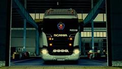 Soon (EduardoCBS) Tags: scania streamline highline r520 520 ets2 euro truck simulator 2 rjl norwegen norway road vlog diary caminhão viagem diário documentário