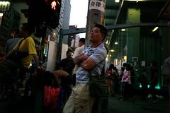 Umbrella Revolution #901 () Tags: road street leica ltm city people publicspace umbrella hongkong freedom democracy movement day path candid voigtlander 28mm protest rangefinder stranger demonstration revolution kowloon mongkok socialevent m9 l39 nofinder f19 m39 occupy offfinder umbrellarevolution voigtlander28mmf19 leicam9 occupycentral    umbreallarevolution