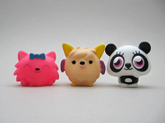 Moshi Monsters Squeaker Set (The Moog Image Dump) Tags: cute set toy toys vivid kawaii monsters moshi figures squeaker squashi