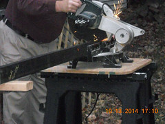 Hank Kennedy table saw project - diy guide rails 13