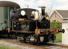 SCM Steamlocomotive Yvonne. (Franky De Witte - Ferroequinologist) Tags: de eisenbahn railway estrada chemin fer spoorwegen ferrocarril ferro ferrovia