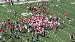 MVI_0979 (Rated R Superstar!) Tags: columbus ohio urban game scarlet collier shoe jones football spring quarterback gray band troy smith miller osu marching elliot buckeyes stephan meyer braxton ohiostate stae cardell