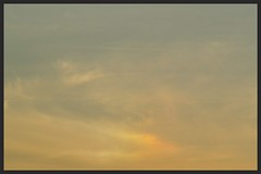Golden Sundog (Zelda Wynn) Tags: weather cloudy auckland goldensunset sundog cloudscape atmosphericoptics troposphere waiatarua zeldawynnphotography