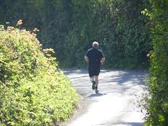Running away (DRS37412) Tags: runningaway alonerunner
