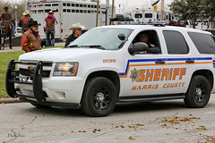 Sheriff's Deputy (wyojones) Tags: sunglasses texas houston shades parade chevy policecar sheriff suv officer lawenforcement houstonlivestockshowandrodeo peaceofficer policeofficer lawman harriscounty deputysheriff depity wyojones houstonlivestockshowandrodeoparade sherifffsoffice