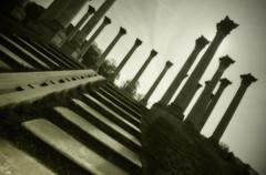 Columns at the National Arboretum, Washington DC (mcleod.robbie) Tags: steps arboretum column