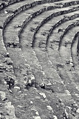 Theatre (Christine Bloom) Tags: white black spain nikon roman round tarragona stands amfiteatre d5000