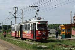 Braila 4653 Endstelle Radu Negru, 06.05.2015 (Tramfan2011) Tags: wien tram romania e1 tramway braila rumänien strasenbahn