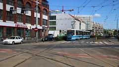 Wrocław_Straßenbahn_Kazimierza_Wielkiego_Ecke_Ruska_13_05_2015_MVI_4913 (Bernhard Kußmagk) Tags: europa europe trolley tram poland polska polen streetcar tramway spårvagn bonde tranbia tramvay tranvia trikk pologne tramwaj villamos wrocław tranvía eléctrico 有轨电车 breslau sporvogn трамвай tramvajs tramvia tramwaje ruska raitiovaunu tramm 1435mm dolnośląskie tramvajus spårväg rzeczpospolitapolska kazimierzawielkiego mpkwrocław strasenbahn sporvei 市内電車 normalspur tranvai τραμ województwodolnośląskie bernhardkusmagk tramvaiul raitioliikenne bernhardkussmagk ट्राम