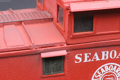 Seaboard International Steel Caboose 08 (Engine Shed) Tags: scale model cab air trains hobby line caboose kit resin ho modelrailroad hoscale hogauge railroading seaboard waycar piszczek
