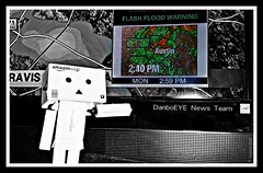 Keeping your informed and up to date with the latest news and weather...DanboEYE News (karmenbizet73) Tags: blackandwhite news weather toys flickr toystory secretlifeoftoys flashflood eyespy weatherman danbo 150365 danboard danbolove toysunderthebed 2015365photos danboeye dontdrownturnaround