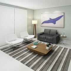 SALA DE ESTAR (domcio ferreira) Tags: art arquitetura cores design 3d arte interiores decorao quadros projetos telas maquetes