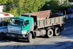 KamAZ-55102  A 739 AE 72 (RUS) (zauralec) Tags: 72 ae rus 739 a kamaz55102 kurgancity streetkurtamyshskaya