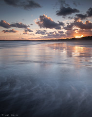 Squiggly (Sarah_Brooks) Tags: morning blue england seascape sunrise landscape cornwall le hour hayle