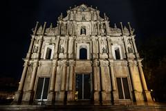 Ruins of St. Paul's (jmywong) Tags: church architecture night ruins asia macau