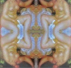 2016-05-31 symmetrical blurred nude3 (april-mo) Tags: art collage painting nude nu blurred symmetry flip symmetrical flouartistique blurredportrait symtrique experimentaltechnique