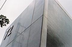 72 Degrees of Separation (35mm) (jcbkk1956) Tags: building walls 72 angles film 35mm nikon fe2 analog manual kodacolour200 architecture worldtrekker db