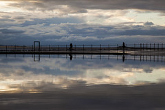 West Kirby Marine Lake (David Chennell - DavidC.Photography) Tags: reflection cloudy wirral westkirby merseyside