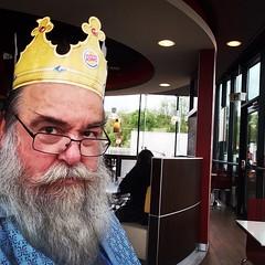 Heute ein Knig (peterhsk77) Tags: krone burger mc hut burgerking mtze jgerfest