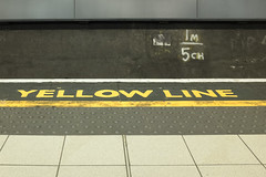 Yellow Line (new folder) Tags: holiday station typography trainstation yellowline limest merseyrail liverpoollimestreet