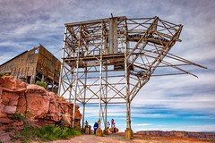 Grand Canyon_290315_1347 (Steve Bark) Tags: arizona people usa building architecture america mine factory fuji north ruin grand canyon mining fujifilm derelict xtrans