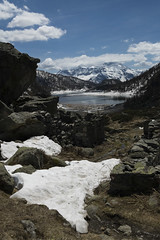 Panorama del lago del Devero 2 (Ciak88) Tags: panorama mountain lake snow alps verde primavera ice nature water lago spring nikon natura neve acqua alpi montagna mou ghiaccio d5300