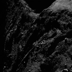 Comet 67P from a distance of 29km (europeanspaceagency) Tags: ice space dust comet osiris rosetta esa 67p