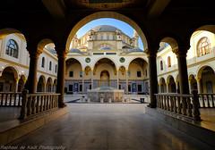 The Courtyard at the Turkish Mosque (Raphael de Kadt) Tags: architecture religious religion mosque tolerance johannesburg turkish gauteng midrand nizamiya