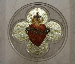 Sacred Heart (Lawrence OP) Tags: church catholic mosaic jesus maryland sacredheart bushwood