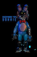 Nightmare Toy Bonnie (vroomstudios) Tags: toy bonnie nightmare animatronic fnaf