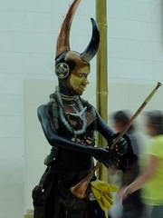 The Lost Soul (failing_angel) Tags: carnival london masks bloomsbury trinidad britishmuseum greatcourt stilts nottinghillcarnival lostsoul africandiaspora transatlanticslavetrade mokojumbie celebratingafrica zakov 310715 guardianofvillages