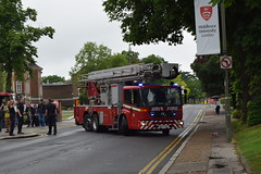 BV57 DFD (markkirk85) Tags: london fire mercedes benz platform engine aerial ladder alp appliance brigade wembley lfb econic g305 alp11