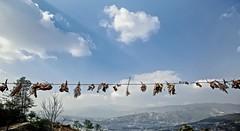 Endurance: The Nepal earthquake (Hearts of Nepal.) (SUNA_PHOTOGRAPHY) Tags: sky nature landscape photojournalism bluesky mountainview wishing naturaldisaster hopeful prayfornepal