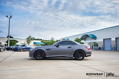 Mercedes SLK Charcoal Matte Metallic