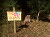 The Village (yewenyi) Tags: sign australia victoria yarravalley renaissancefestival yarrajunction 2015 paintedflowers campeureka thevillagesign