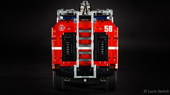 Lego Technic Airport Crash Tender (Lucio Switch) Tags: truck airport lego technic firefighting