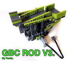 LEGO GBC ROD V3. (Parda Technic) Tags: lego instructions gbc parda greatballcontraption