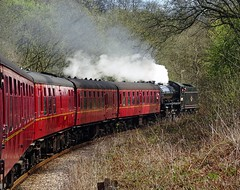 62005 LNER Class K1 2-6-0 on the NYMR (Ermintrude73) Tags: train transport eisenbahn railway steam bahn steamtrain steamlocomotive nymr steampowered northyorkshiremoorsrailway lner 62005  heritagerailway classk1260