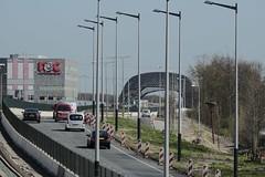 Eerste metro 2015-04-15 at 11-00-55 (Guda G) Tags: amsterdam metro transport nz noordzuidlijn amsterdamnoord nzlijn buiksloot northsouthline buikslotermeer proefrit nietinstappen nieuweleeuwarderweg nieuwepurmerweg eerstemetro