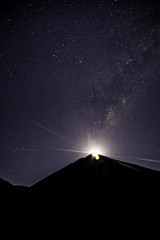 Salida de la Luna en Mamalluca (cotonga) Tags: chile sky moon canon stars la purple luna via observatory galaxy estrellas serena 6d observatorio 24105 mamalluca lactea ef24105mm canon6d