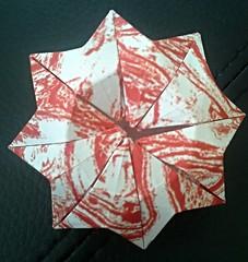 Finger eater pot (modular.dodecahedron) Tags: origamibox toshikazukawasaki