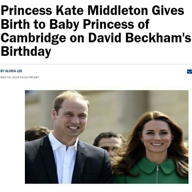 @KensingtonPalace @DavidBeckham   Congratulations to the British Royal family on the birth of a healthy daughter.  Read at http://www.christianitydaily.com/articles/3446/20150502/princess-kate-middleton-prince-william-and-prince-george-of-cambridge-welcom